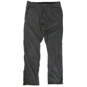 Kuhl Mens Slax Gray Hiking Pants Size 34 x 34